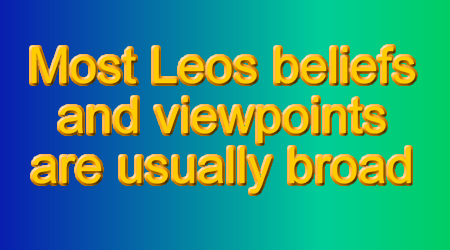 Leos can realize that others in their life may actually have some good ideas