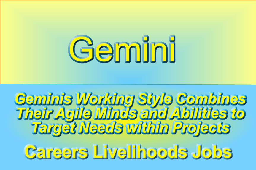 Geminis Working Style Combines Agile Minds and Abilities to TargetNeeds